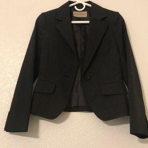 Women black suit set size 2